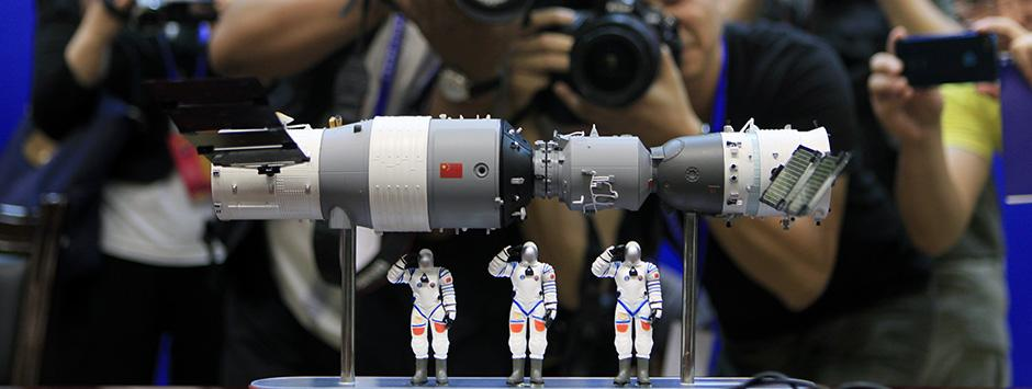 Tiangong-1, the out of control Chinese space station to crash into the Earth in the next few months