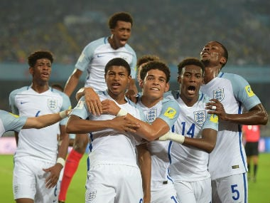FIFA U World Cup England Hero Rhian Brewster Dedicates - Side world cup fifa dont want see