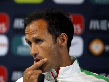 Portugal's national soccer player Ricardo Carvalho attends a news conference at Alvalade stadium in Lisbon, Portugal September 3, 2015. Portugal will face France in a friendly game on Friday. REUTERS/Rafael Marchante  - GF10000191748