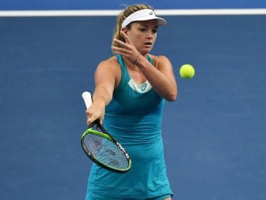 CoCo Vandeweghe opened the WTA Elite Trophy with a 3-6, 6-3, 6-2 win over Chinese wild-card entry Peng Shuai. Twitter/@WTA