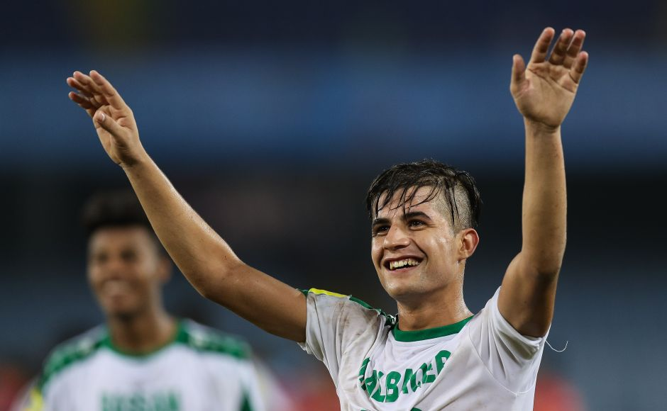 Iraq's Dawood Mohammed netted a brace to help Iraq continue their impressive run in the FIFA U-17 World Cup after a 3-0 win over Chile in Kolkata. GettyImages