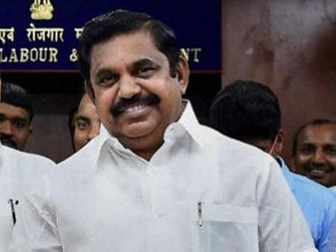 File photo of Tamil Nadu chief minister E Palaniswami. PTI