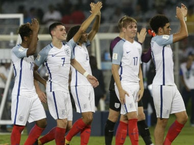 England clinched the FIFA U-17 World Cup 2017 title. AP