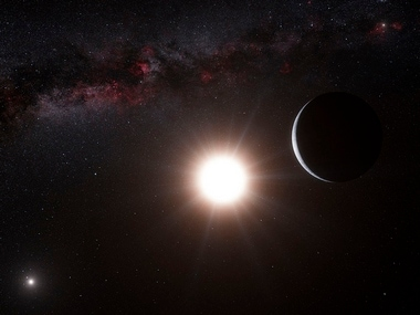 An artist?s impression shows the planet orbiting the star Alpha Centauri B, a member of the triple star system that is the closest to Earth. Reuters.