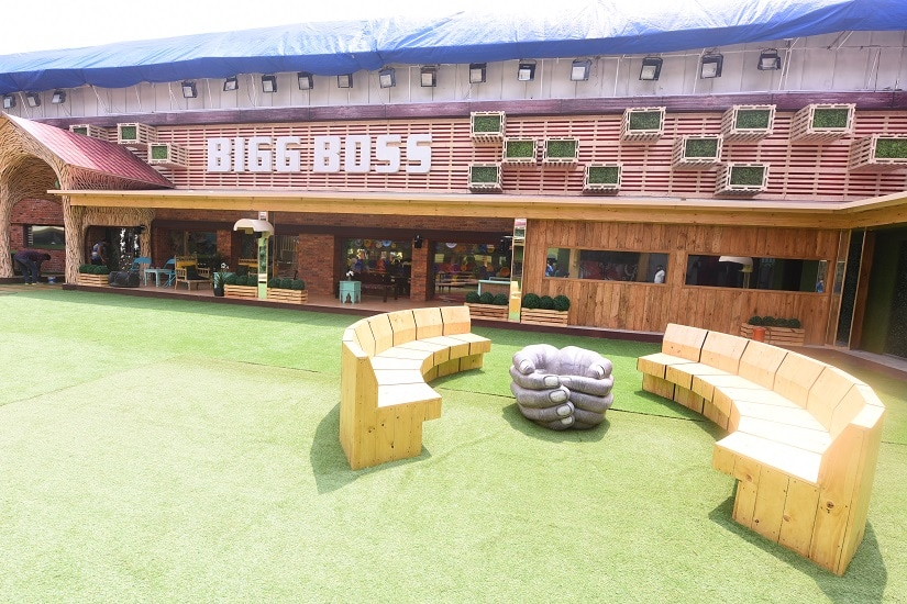 Exteriors Bigg Boss 11 House - Dining Room