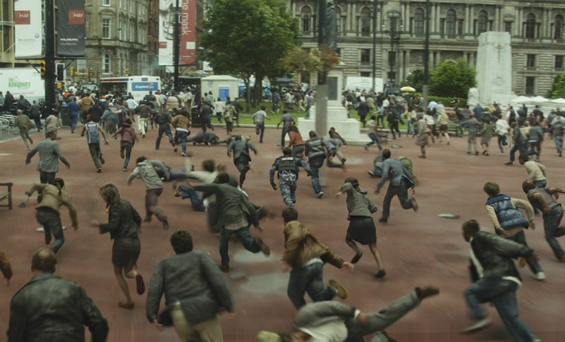 The zombies in films like World War Z exhibit heightened endurance and velocity levels, compared to their slower Romero brethren. YouTube