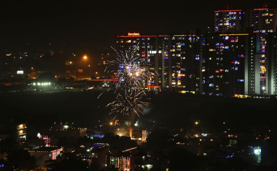 India Celebrates Diwali The Festival Of Lights With