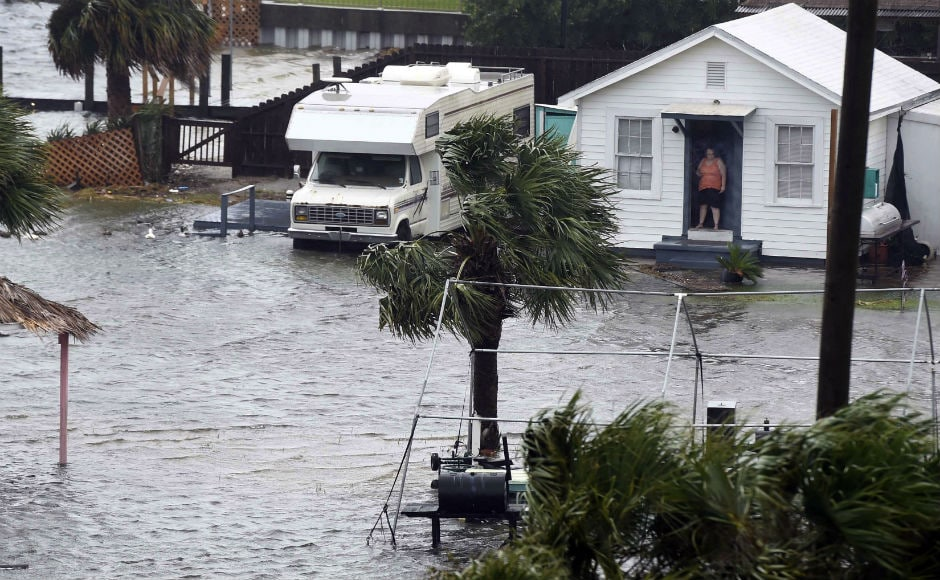 Hurricane Nate brought a burst of flooding and power outages to the US Gulf Coast before weakening rapidly, sparing the region the kind of catastrophic damage left by a series of hurricanes that hit the southern US and Caribbean in recent weeks. AP