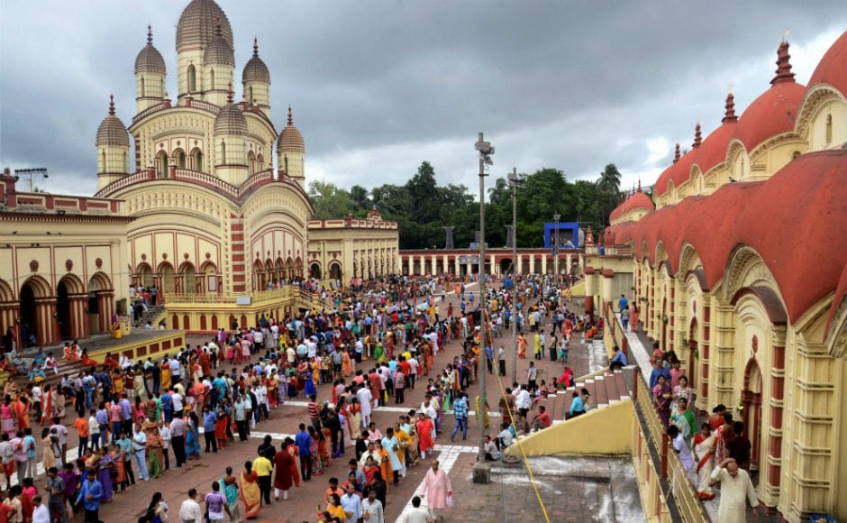 Thousands of devotees on Thursday thronged the temples across India to celebrate the festival. They offered traditional sweets such as balushais, khasta, coconuts to their deity. PTI