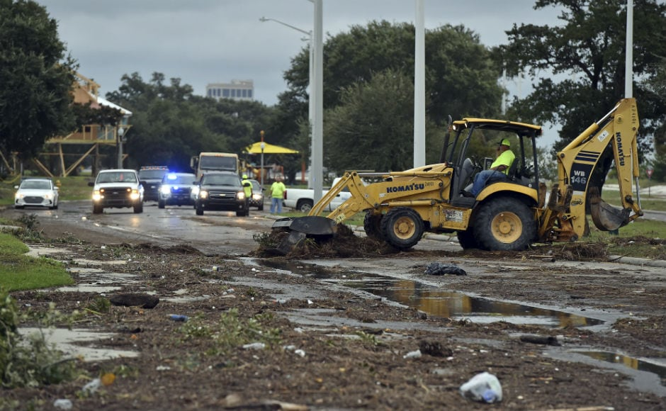 Nate, the first hurricane to make landfall in Mississippi since Katrina in 2005, quickly lost strength with its winds diminishing to a tropical depression as it pushed northward into Alabama and towards Georgia. AP