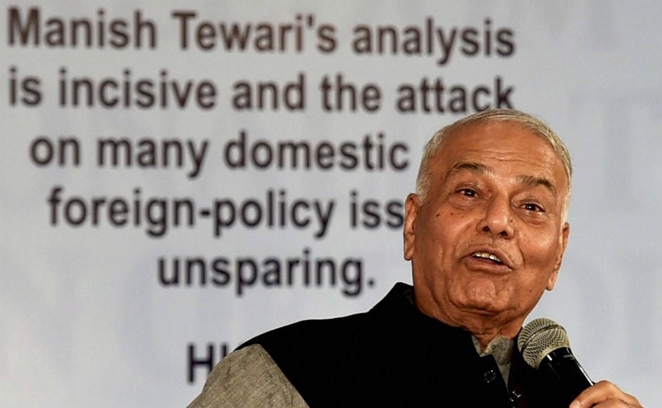 Sinha also compared Amit Shah and Narendra Modi with the eldest Kaurava brothers Duryodhana and Dushasan.
