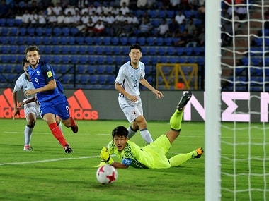 France won their second straight match in Group E to secure qualification. PTI