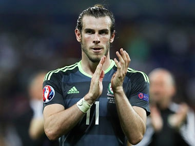 File photo of Wales's Gareth Bale. AP