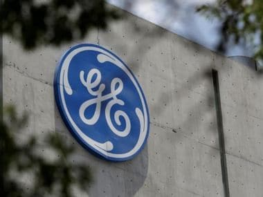 The logo of General Electric Co. is pictured at the Global Operations Center in San Pedro. Reuters