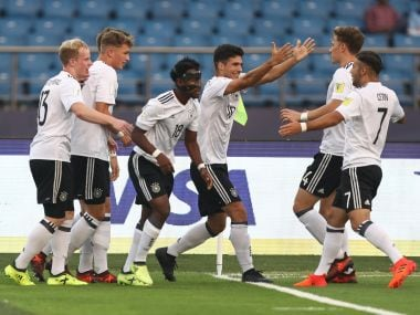 Germany played with pace and precision to beat physically-superior Colombia. GettyImages