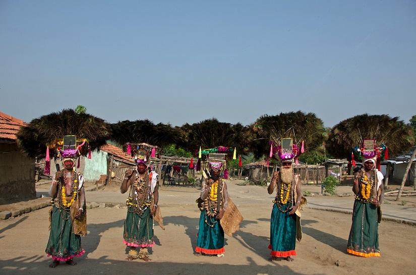 Ghusadi by the Kolam tribe