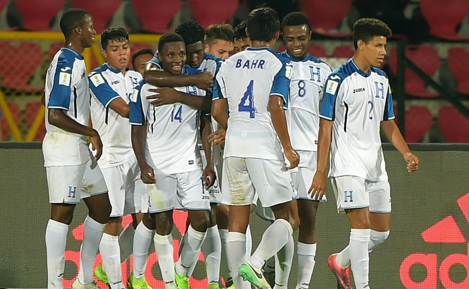 Honduras bounced back from the 6-1 thumping at the hands of Japan with a 5-0 win over New Caledonia to boost their chances of booking a place in the knock-out stages of the FIFA U-17 World Cup. GettyImages