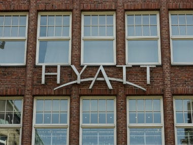 Hyatt hotel in Hamburg. Reuters.