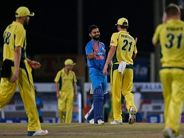 India romped home in the first T20I in Ranchi on Saturday. AP