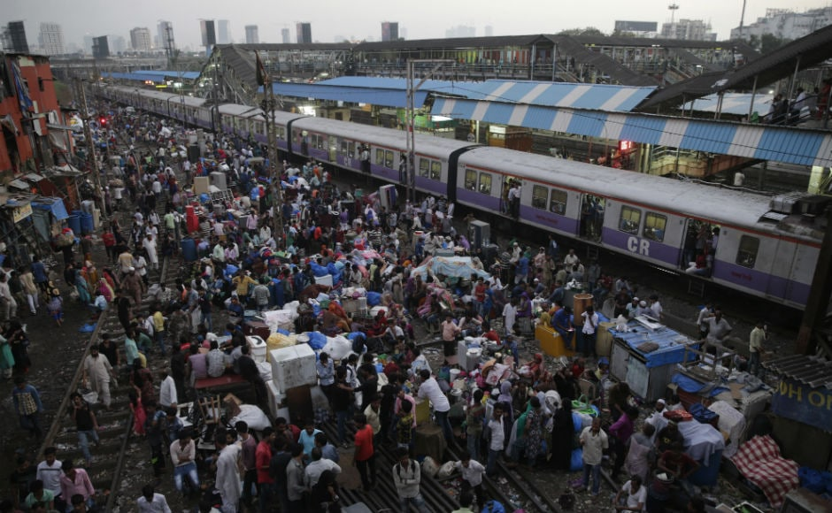 At one point, the flames reached the first-floor ticket booking office on the south foot overbridge forcing railways to tempororily stop services. As a precaution against a stampede, security personnel were posted across the station to prevent large crowds from gathering. AP