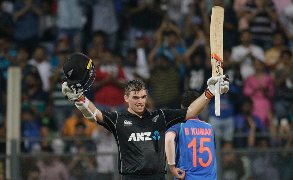 Gutsy Tom Latham and Ross Taylor help Black Caps gain early advantage in ODI series
