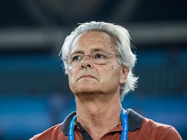 India coach Luis Norton de Matos. Getty Images