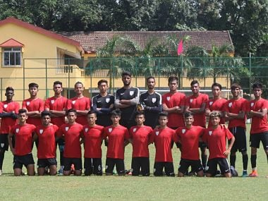 India's U-17 squad. Image Courtesy: Facebook FIFA U-17 World Cup