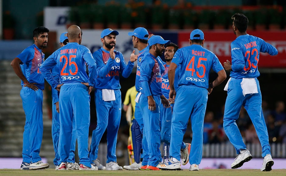 Indian cricket team was in total control at the rain break with Australia tottering at 118/8. The hosts were then asked to chase 48 in six overs, according to DLS method. AP