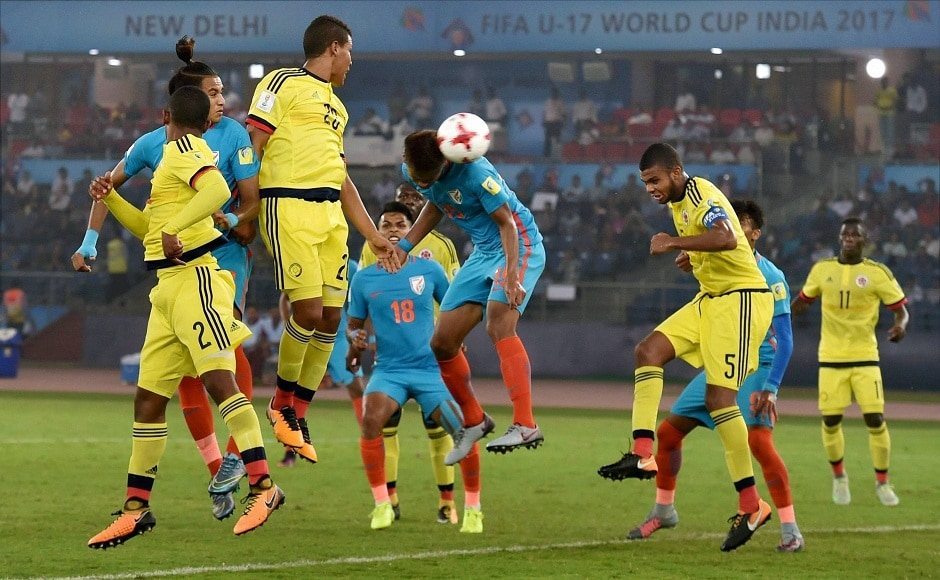 Jeakson's goal meant India were just minutes away from securing their first ever World Cup point, against Colombia in New Delhi on Monday. PTI