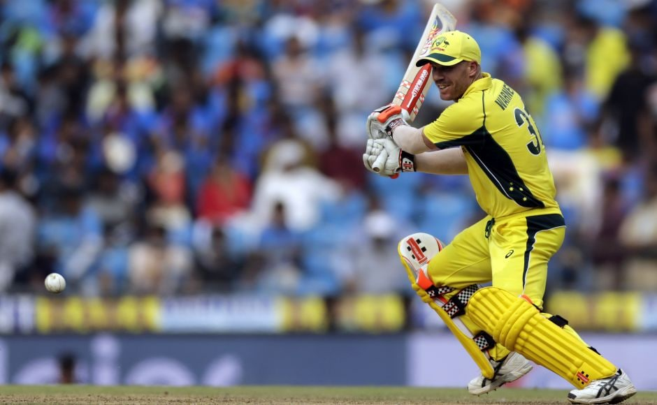 Following his hundred in the last game, David Warner reached his 17th ODI half-century off 56 balls. AP