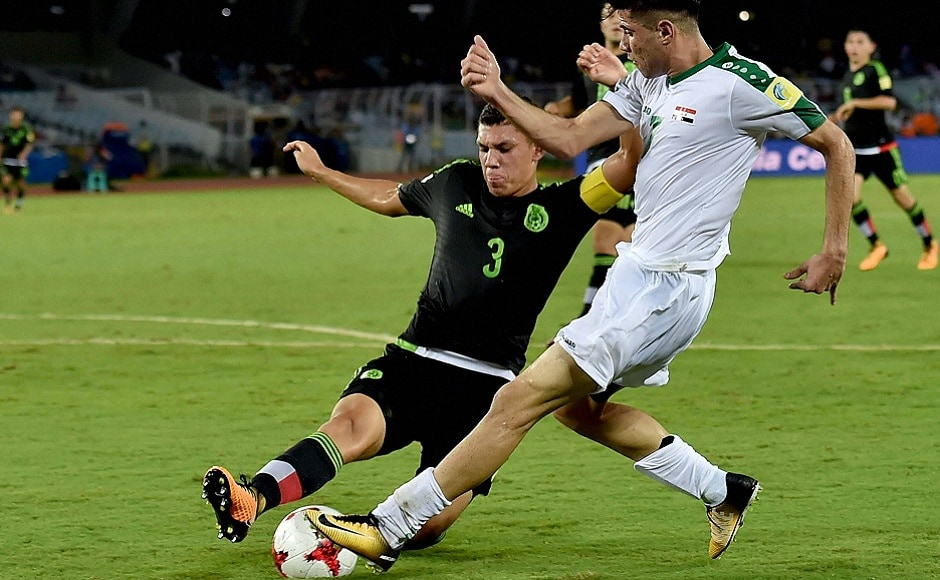 Iraq registered their first ever point in the history of the FIFA U-17 World Cup, in their 1-1 draw against Mexico. PTI