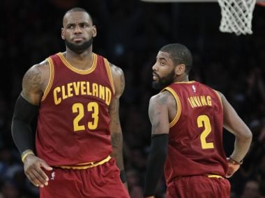 NBA: LeBron James picks Kevin Durant, former Cavaliers teammate Kyrie Irving for All-Star Game
