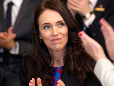 File image of New Zealand prime minister Jacinda Ardern. AP