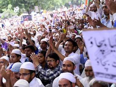 File image of a protest at Jantar Mantar in New Delhi. Getty Images
