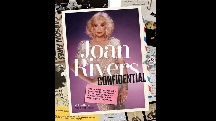 Joan Rivers Confidential: The Unseen Scrapbooks, Joke Cards, Personal Files, and Photos of a Very Funny Woman Who Kept Everything. Image courtesy: Facebook