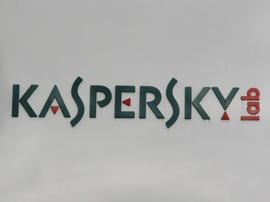 The logo of the anti-virus firm Kaspersky Lab. Reuters.