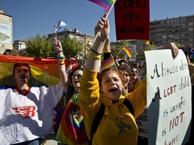 Kosovo holds first ever gay pride parade, LGBT community finds support from President Hashim Thaci
