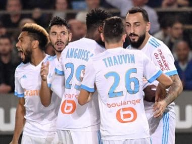 Kostas Mitroglou netted a late equaliser to salvage a point in 3-3 draw at Strasbourg. Image courtesy: Twitter @kmitroglou