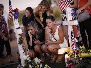 Victims of the Las Vegas shooting. AP