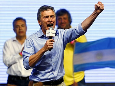 File image of Mauricio Macri. Reuters