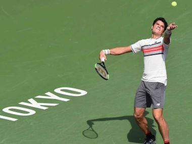 Milos Ranoic beat Viktor Troicki 6-3, 6-4 in the first round of the Japan Open. Twitter @ATPWorldTour