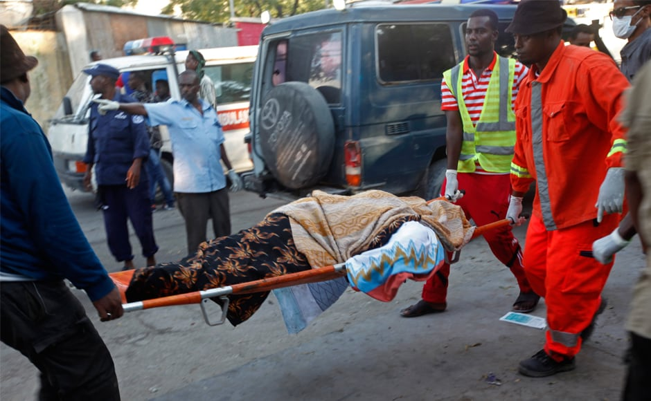 Among the dead were a mother and three children, including a baby, all shot in the head. Other victims included a senior Somali police colonel, a former lawmaker and a former government minister. AP
