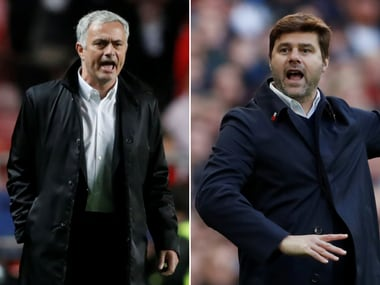 Managers Jose Mourinho and Mauricio Pochettino face off in a must-win clash for their teams. Reuters