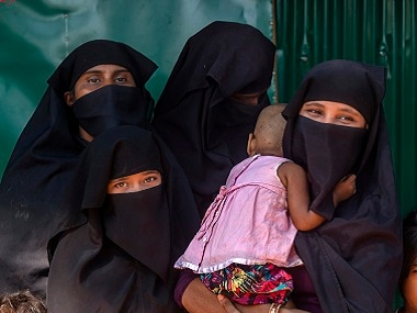 Over 600,000 Rohingya have fled from Myanmar into Bangladesh. AP