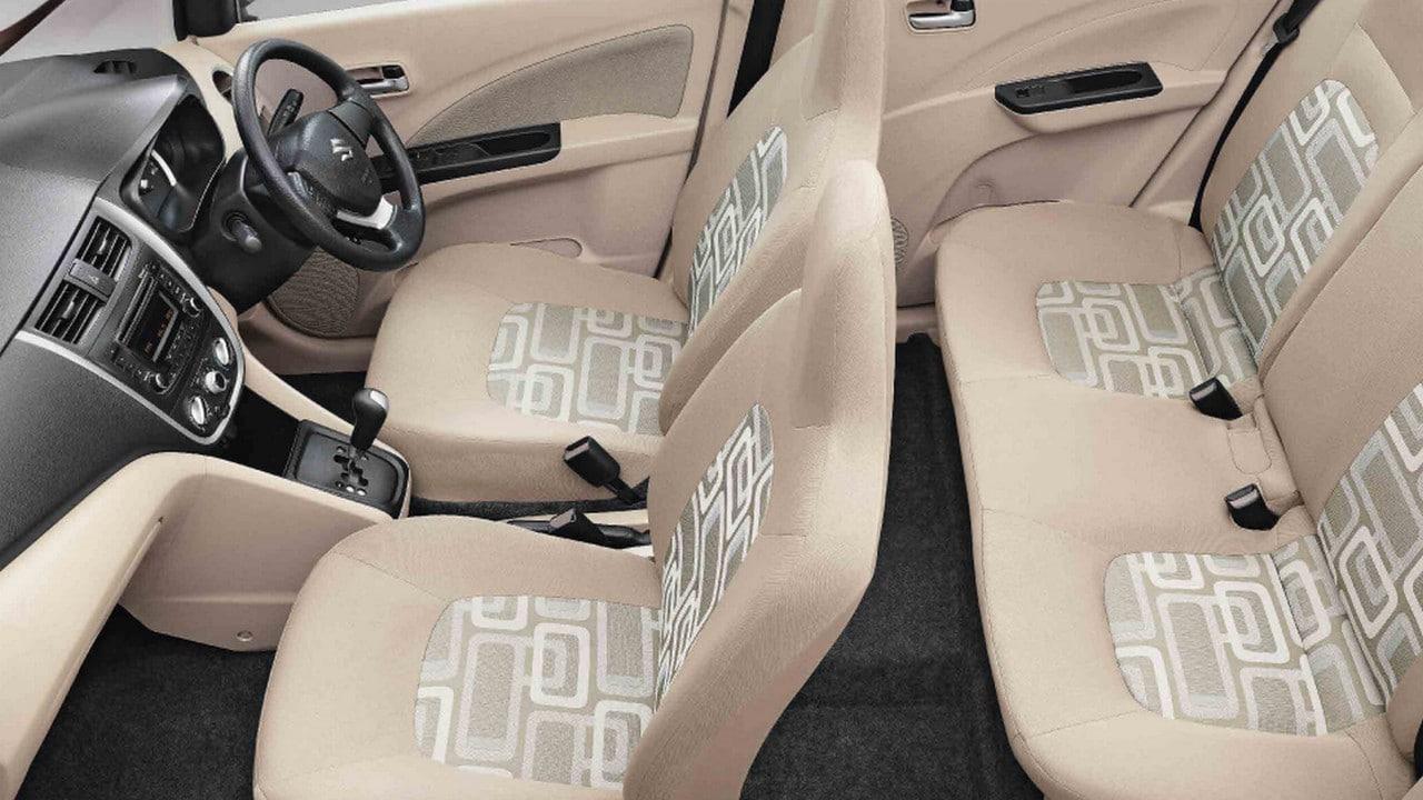 The New Maruti Suzuki Celerio's interiors