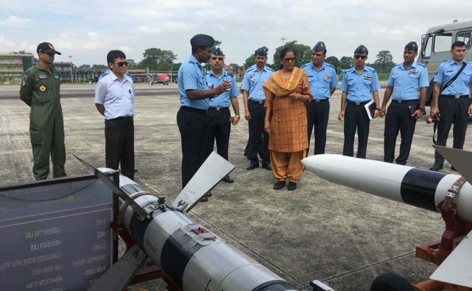The visit to Tezpur was part of Sitharaman's maiden visit to the Eastern Command after she took over the charge of the defence ministry from Arun Jaitley on 6 September 2017. Twitter @DefenceMinIndia