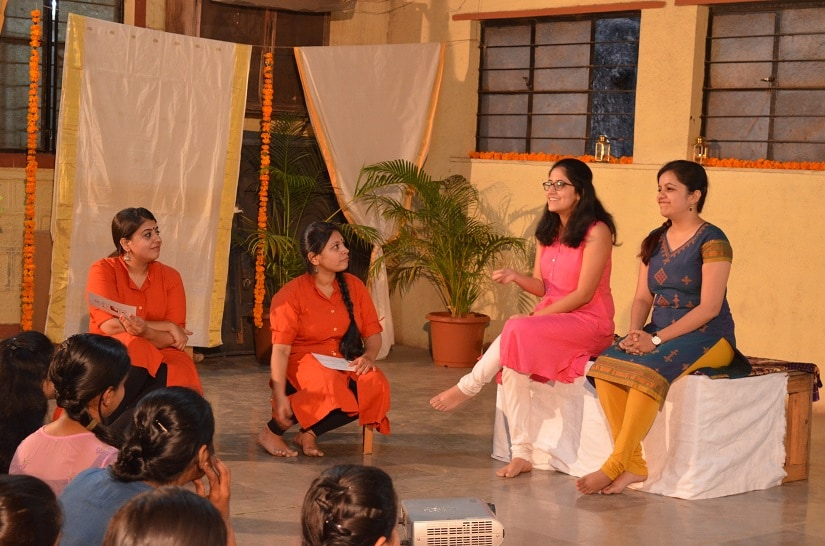 One of the monthly talk shows organised by Sutradhar