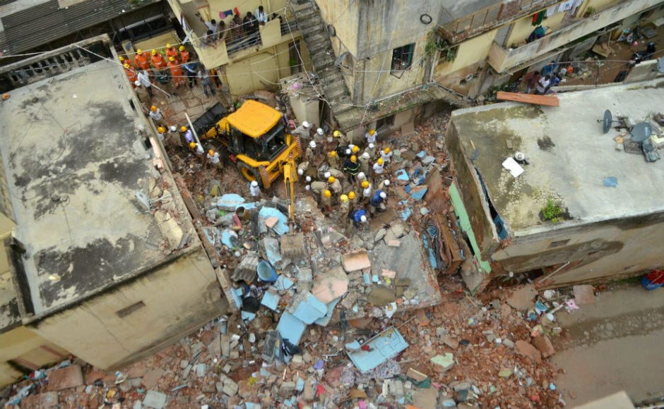 At least seven persons, including three women, were killed and several others feared trapped when a two-storey building collapsed due to a suspected LPG cylinder blast near Ejipura in Bengaluru on Monday. PTI