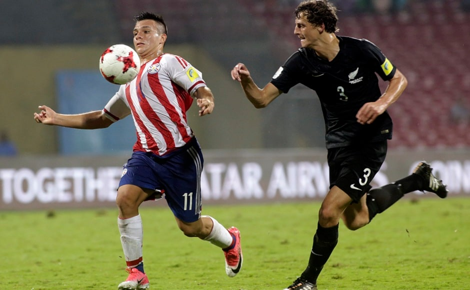 Anibal Vega scored a brace for Paraguay, as the South Americans booked their place in the last-16 of the Under-17 World Cup. AP