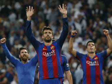Gerard Pique has had a tough time picking sides in the last few weeks. Reuters